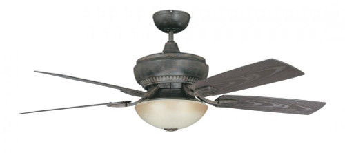 Concord By Luminance 52 Inch Boardwalk For Wet Location Ceiling Fan - Aged Pecan 52BW5AP