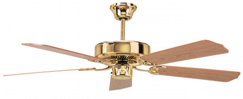 Concord By Luminance 52 Inch California Home Collection Ceiling Fan - Polished Brass 52CH5BB