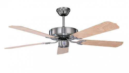 Concord By Luminance 52 Inch California Home Collection Ceiling Fan - Stainless Steel 52CH5ST