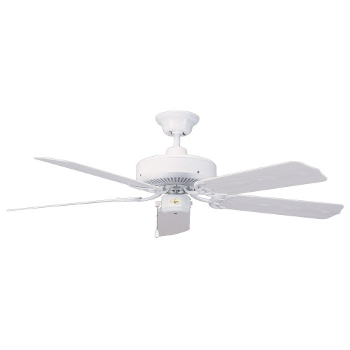 Concord By Luminance 52 Inch Nautika Outdoor Ceiling Fan - White 52NA5WH