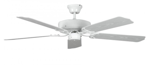 Concord By Luminance 52 Inch Porch Ceiling Fan - White 52POR5WH