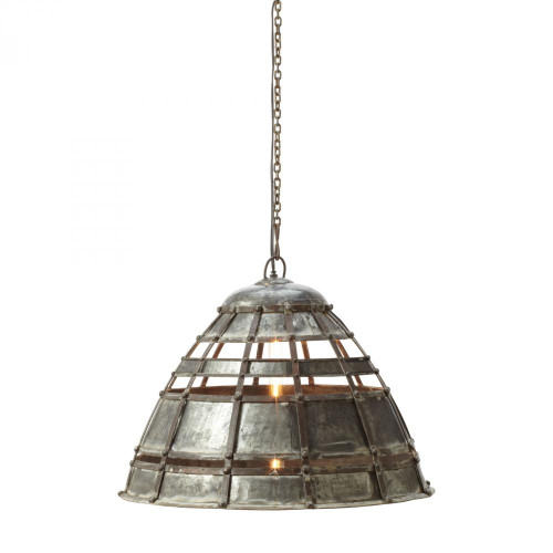 Colossal Fortress 1 Light Pendant In Distressed 135004