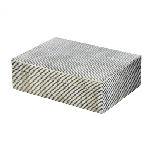 Pin Stripe Bone Box - Large 344057