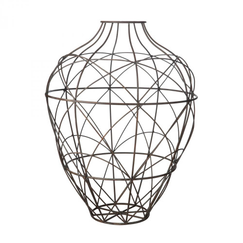 Wire Vessel In Russet - Small 594013