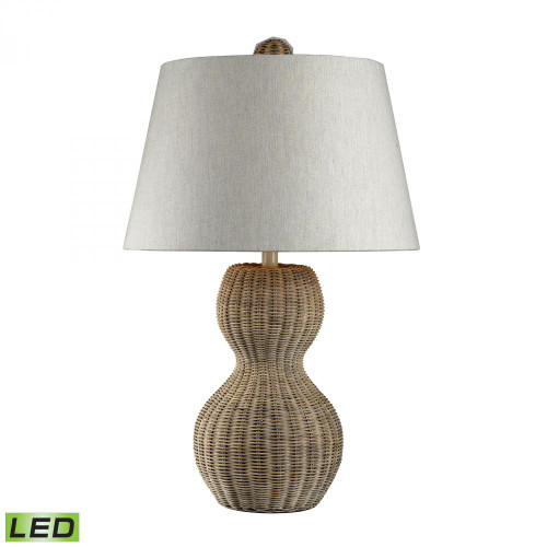 Sycamore Hill Rattan LED Table Lamp in Light Natural Finish 111-1088-LED