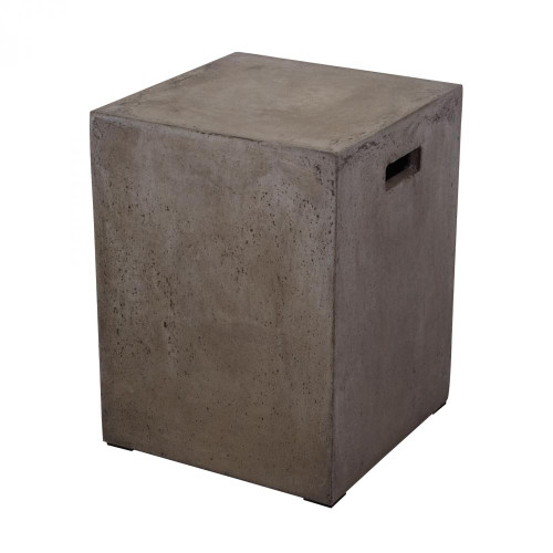 Cubo Square Handled Concrete Stool 157-004