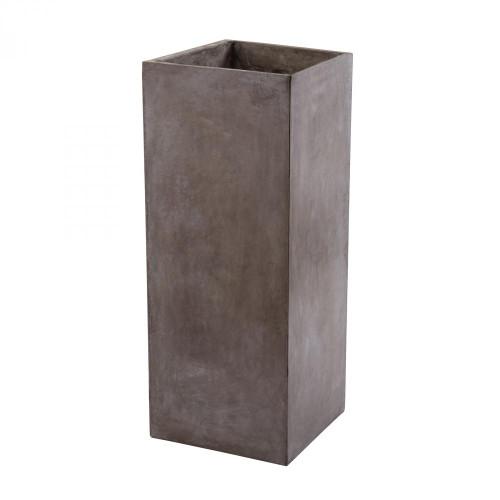 Al Fresco Tall Cement Planter 157-012