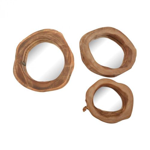 Teak Wood Mirror 162-017/S3