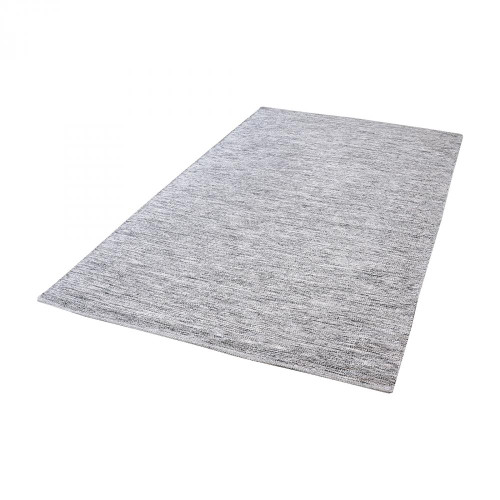 Alena Handmade Cotton Rug In Black And White - 3 8905-001