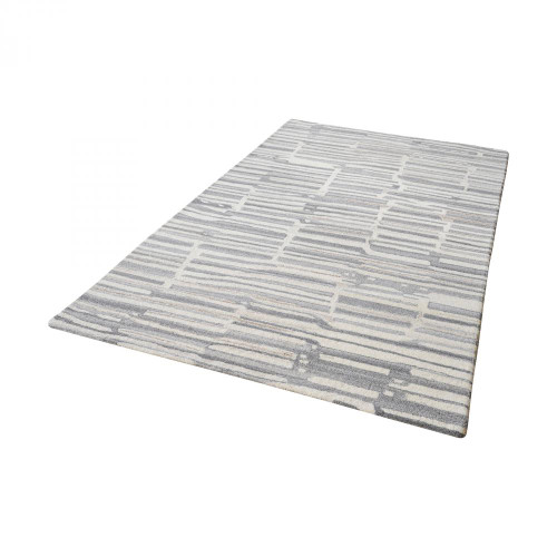 Home Decor By Dimond Slate Handtufted Wool Rug In Grey And White - 3f 8905-260