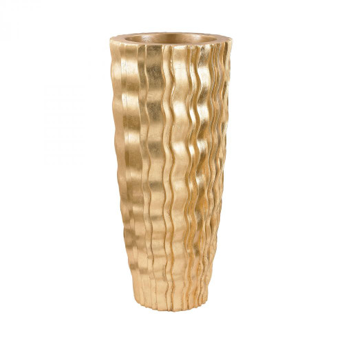 Gold Wave Vessel - Small 9166-031