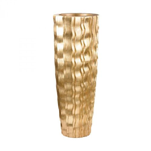 Gold Wave Vessel - Large 9166-032