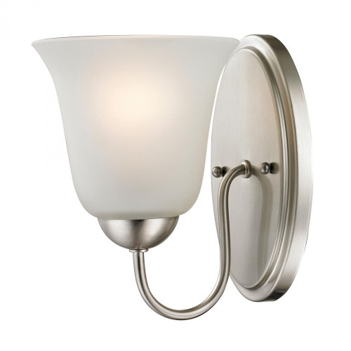 Conway 1 Light Bath Bar In Brushed Nickel 1201WS/20