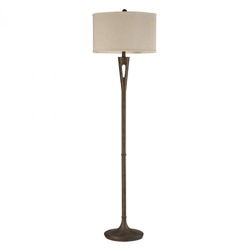 Martcliff Floor Lamp in Burnished Bronze D2427