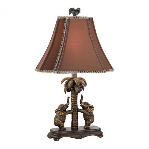 Adamslane Elephant Table Lamp in Bronze D2475