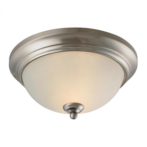 Huntington 2 Light Ceiling Lamp In Brushed Nickel 7002FM/20