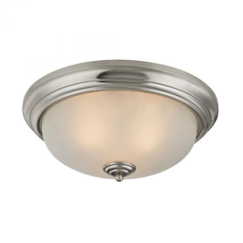 3 Light Flush Mount In Brushed Nickel 7013FM/20