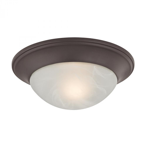 1 Light Flushmount In Oil Rubbed Bronze 7301FM/10