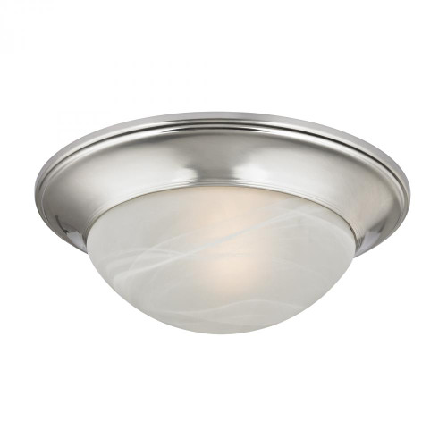 1 Light Flushmount In Brushed Nickel 7301FM/20
