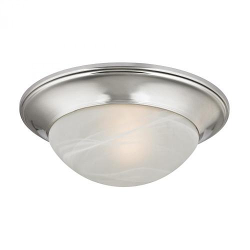 1 Light Flushmount In Brushed Nickel 7301FM/20