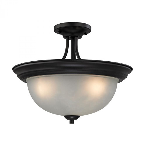 Elk Cornerstone Bristol Lane 3 Light Bronze Semi-Flushmount Ceiling Light-2103SF/10