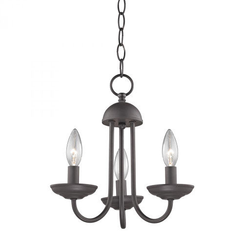 3 light mini chandelier in oil rubbed 1523ch10