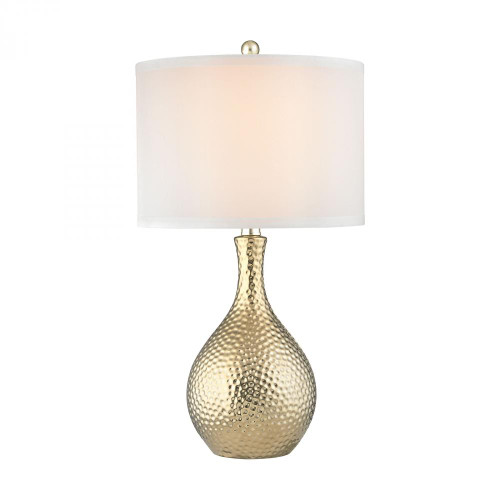 Soleil 1 Light Table Lamp In Gold Plate D2940