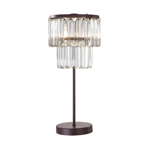 Antoinette 1 Light Table Lamp In Bronze D3014