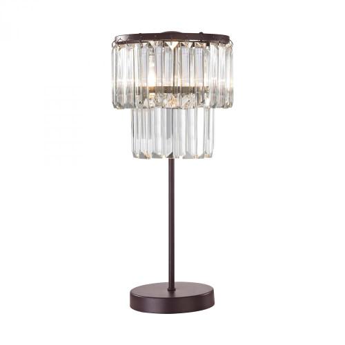 Antoinette 1 Light Table Lamp In Bronze D3014