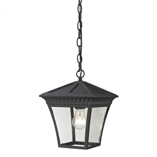Ridgewood Pendant Lantern In Matte Textured Black 8411EH/65