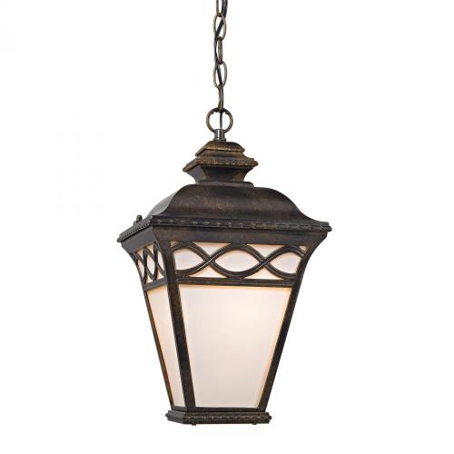 Mendham 1 Light Pendant Lantern In Hazelnut Bronze 8561EH/70