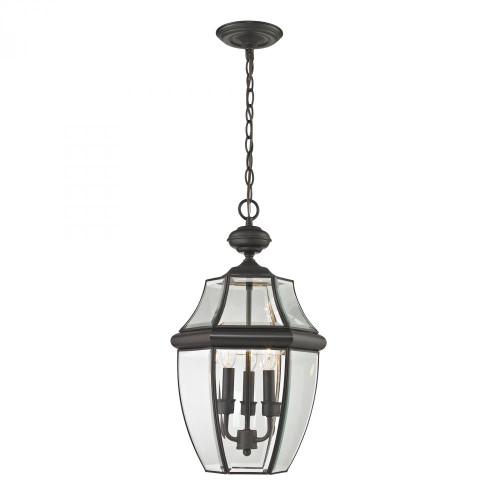 Ashford 3 Light Exterior Hanging Lantern In Oil Rubbed Bronze 8603EH/75