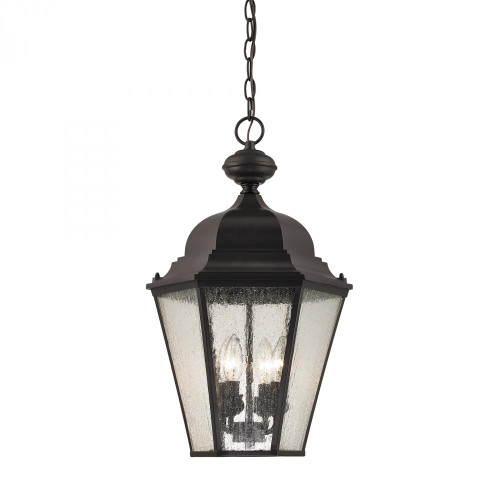 Cotswold 4 Light Exterior Hanging Lamp In Oil Rubbed Bronze 8903EH/75