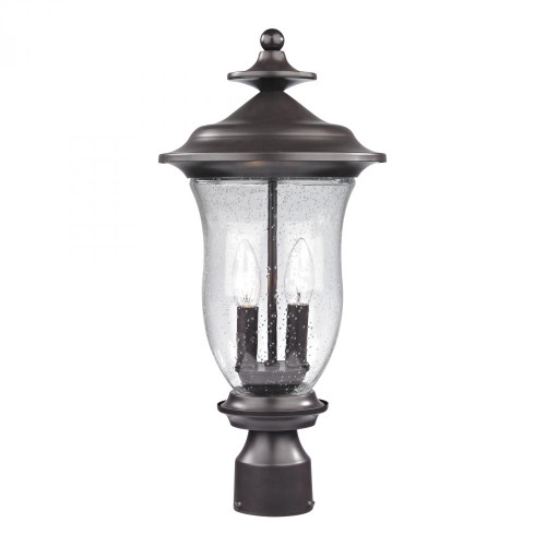 Trinity Post Lantern In Oil Rubbed Bronze 8002EP/75