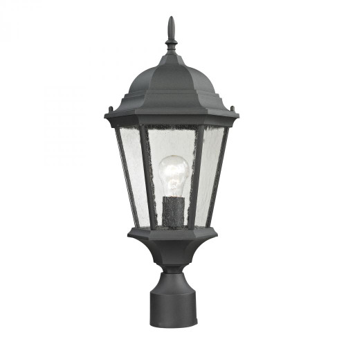 Temple Hill Pendant Lantern In Matte Textured Black 8101EP/65