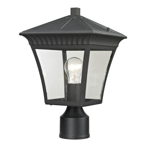 Ridgewood Post Lantern In Matte Textured Black 8411EP/65