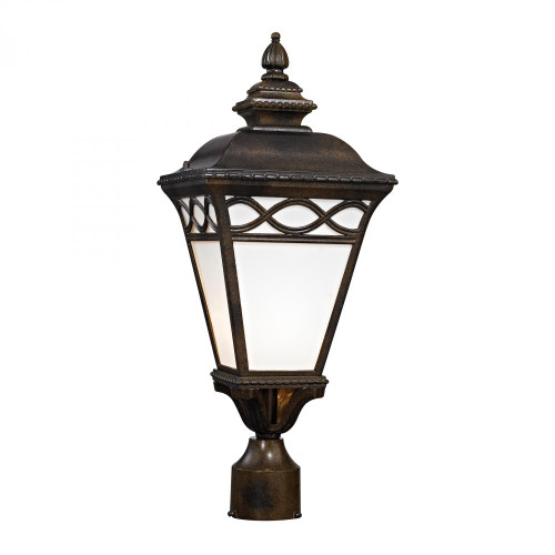 Mendham 1 Light Post Lantern In Hazelnut Bronze 8561EP/70