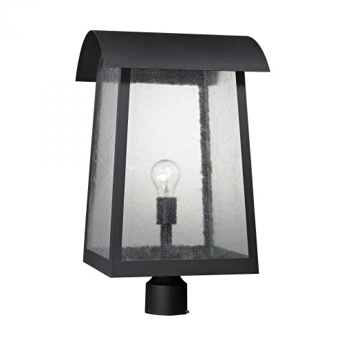 Prince Street 1 Light Exterior Post Lamp In Matte Black 8721EP/65
