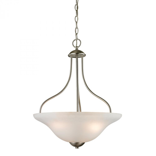 Conway 3 Light Large Pendant In Brushed Nickel 1203PL/20