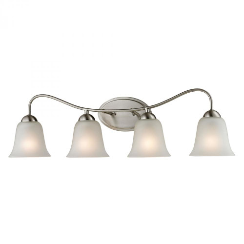 Conway 4 Light Bath Bar In Brushed Nickel 1204BB/20