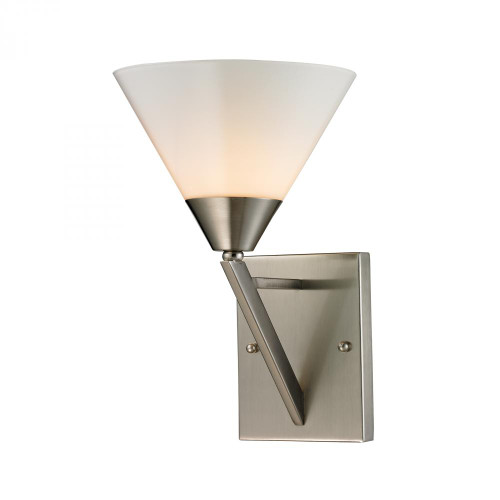 Tribecca 1 Light Wall Scone In Brushed Nickel 2451WS/20