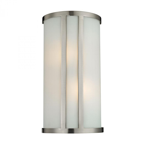 2 Light Wall Sconce In Brushed Nickel 5102WS/20