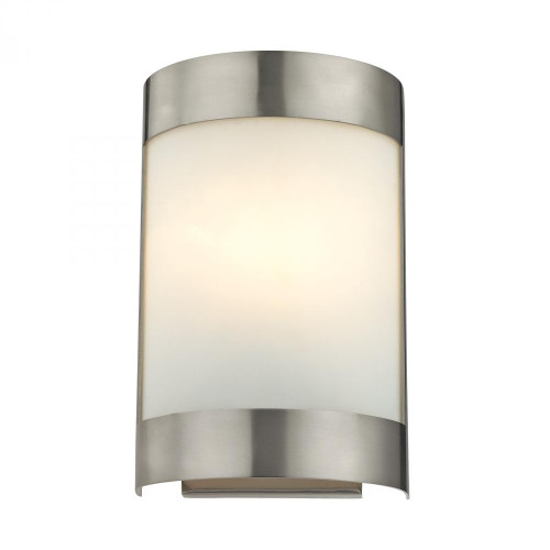 1 Light Wall Sconce In Brushed Nickel 6.5x10 5181WS/20