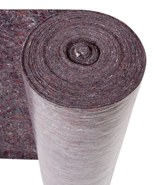 Hard Floor Protection Budget Grey Fleece