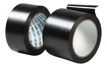 pvc floor protection tape black