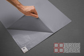 Tac-Mat - 60cm x 115cm 1 Mat / 60 Sheets Hi-Tac GREY