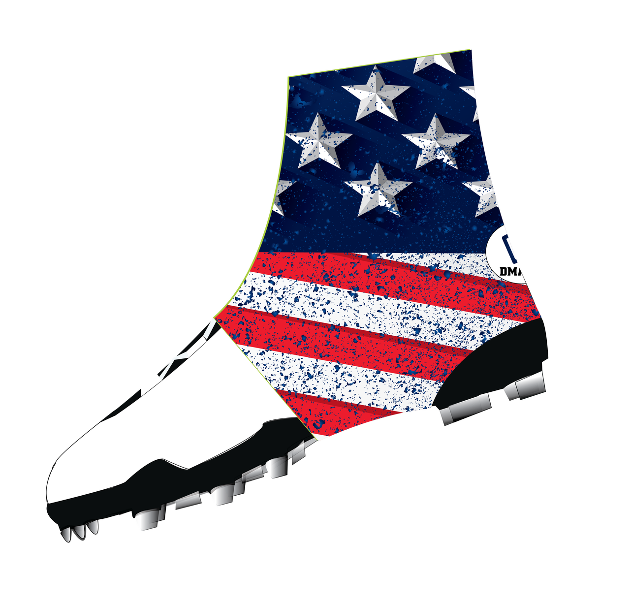 Usa Flag Cleat Covers Dmaxxsports