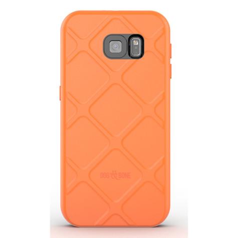 Dog & Bone Wetsuit Waterproof Rugged Case Samsung Galaxy S6 - Orange