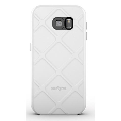 Dog & Bone Wetsuit Waterproof Rugged Case Samsung Galaxy S6 - White/Grey