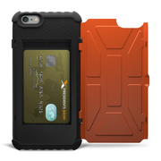 UAG Rust Trooper Card Wallet Case iPhone 6+/6S+ Plus - Orange